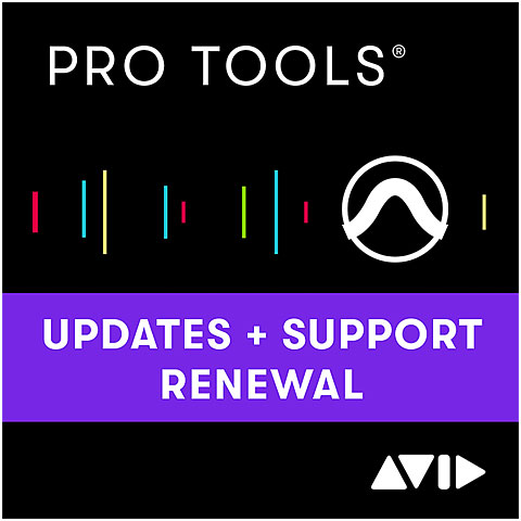 Software DAW Avid Pro Tools Update & Support Plan ESD