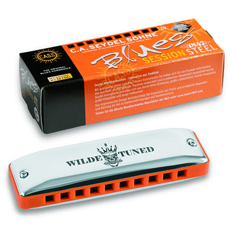 Harmonica Richter C.A. Seydel Söhne Session Steel - Wilde Rock Tuning G