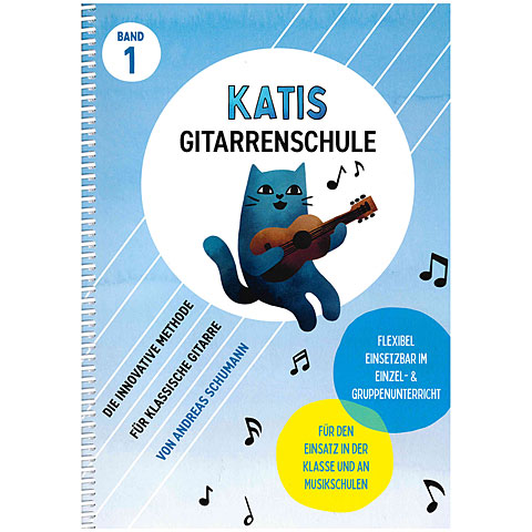 Lehrbuch Bosworth KATIS Gitarrenschule Bd. 1