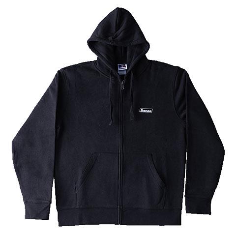 Hood Zip Ibanez Black Logo XXL