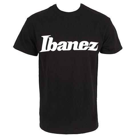 Camiseta manga corta Ibanez Logo Black XXL