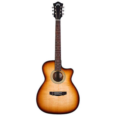 Guitare acoustique Guild OM-260CE Deluxe Burl