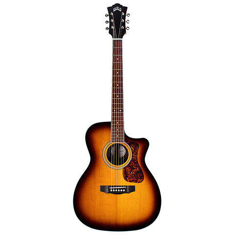 Guitare acoustique Guild OM-260CE Deluxe Antique Burst