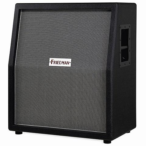 Box E-Gitarre Friedman 212 Vertical BK Black/Silver Front