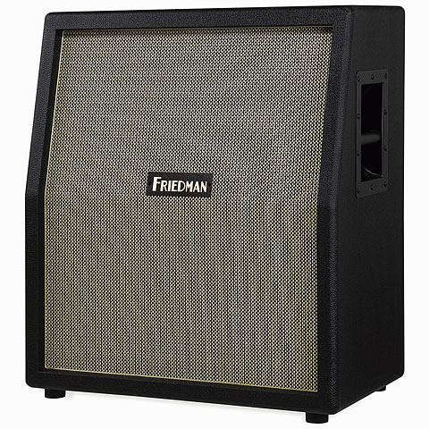Guitar Cabinet Friedman 212 Vertical BK Black/Gold Front