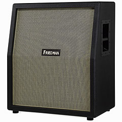 Friedman 212 Vertical BK Black/Gold Front « Guitar Cabinet