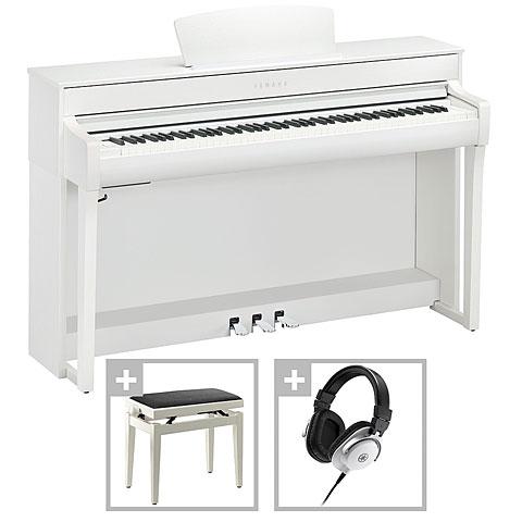 Digitalpiano Yamaha Clavinova CLP-735 W Premium Set