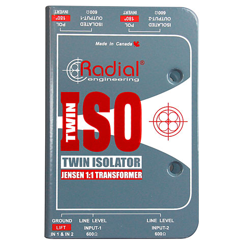Aislante de línea Radial Twin-Iso