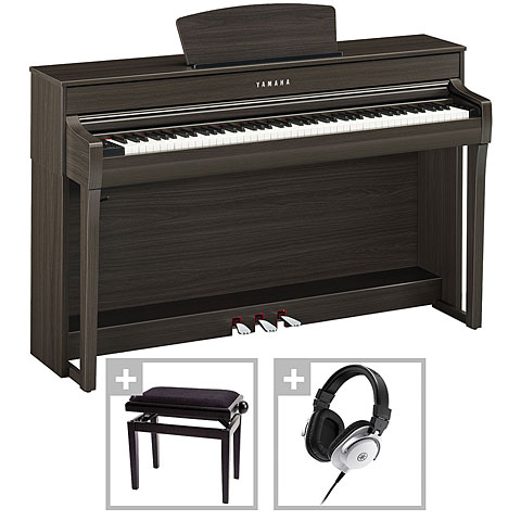Digitale piano Yamaha Clavinova CLP-735DW Premium Set