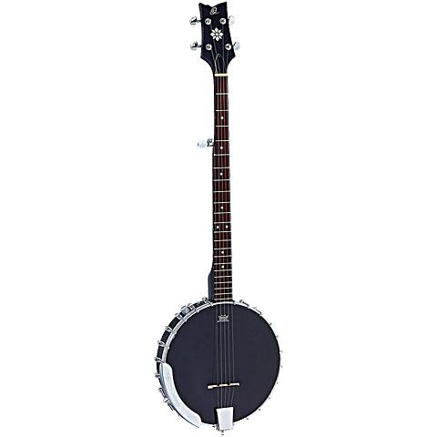 Bluegrass Banjo Ortega OBJE250OP-SBK