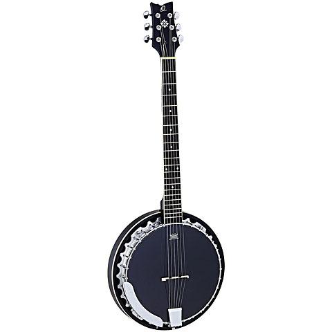Bluegrass Banjo Ortega OBJ350/6-SBK