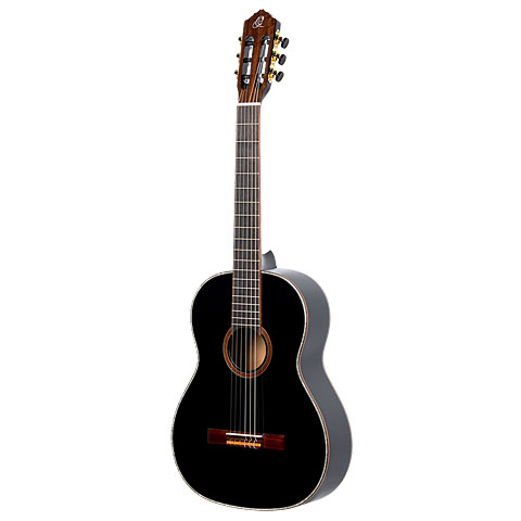 Konzertgitarre Lefthand Ortega R221BK-L