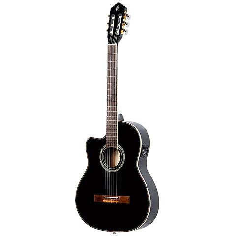 Konzertgitarre Lefthand Ortega RCE145LBK