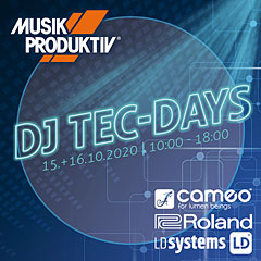 Musik Produktiv DJ Tec-Days « Active PA-Speakers