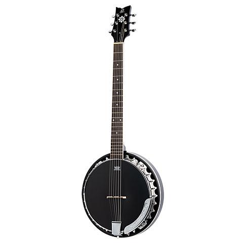 Bluegrass Banjo Ortega OBJE356-SBK-L