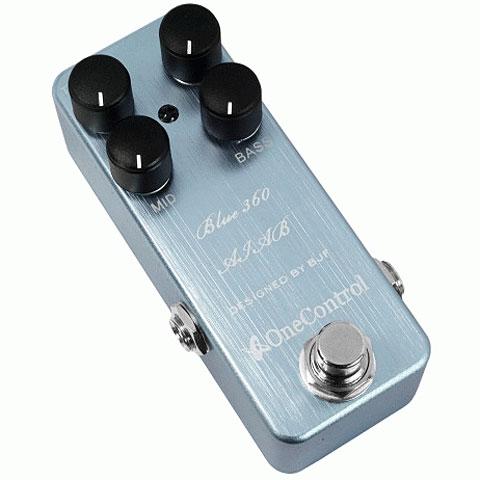 Effektgerät E-Bass One Control Blue 360 AIAB