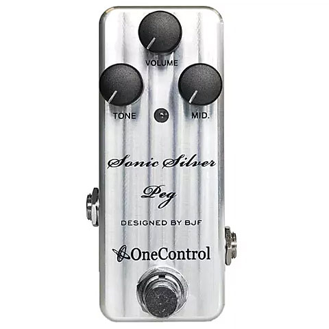Effektgerät E-Bass One Control Sonic Silver Peg