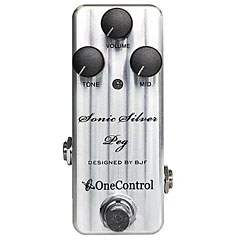 One Control Sonic Silver Peg « Pedal bajo eléctrico