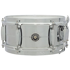 "Gretsch Drums USA Brooklyn 10"" x 5"", Chrome over Steel Snare « Caisse claire"