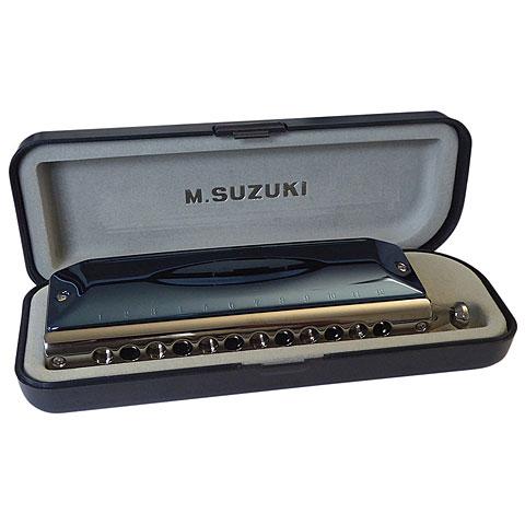 chromatische Mundharmonika Suzuki G-48 Gregoire Maret Signature Model