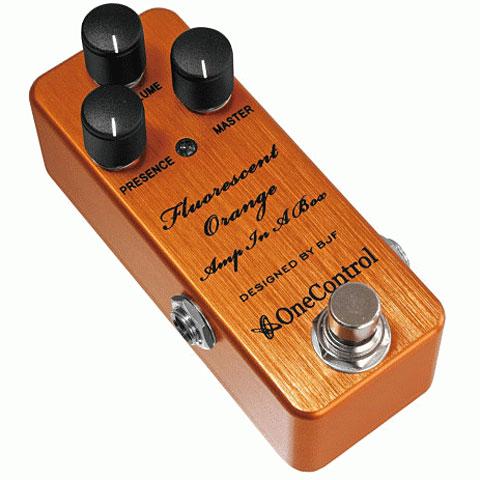 Effektgerät E-Gitarre One Control Fluorescent Orange AIAB