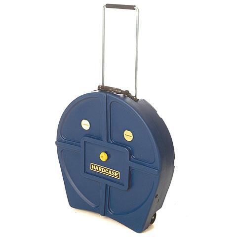 "Cymbalcase Hardcase Colored Padded 22"" Dark Blue Cymbal Trolley"
