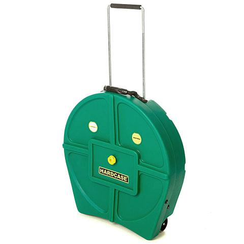 "Cymbalcase Hardcase Colored Padded 22"" Dark Green Cymbal Trolley"