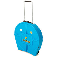 "Hardcase Colored Padded 22"" Light Blue Cymbal Trolley « Cymbalcase"