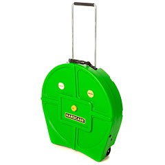 "Hardcase Colored Padded 22"" Light Green Cymbal Trolley « Cymbalcase"