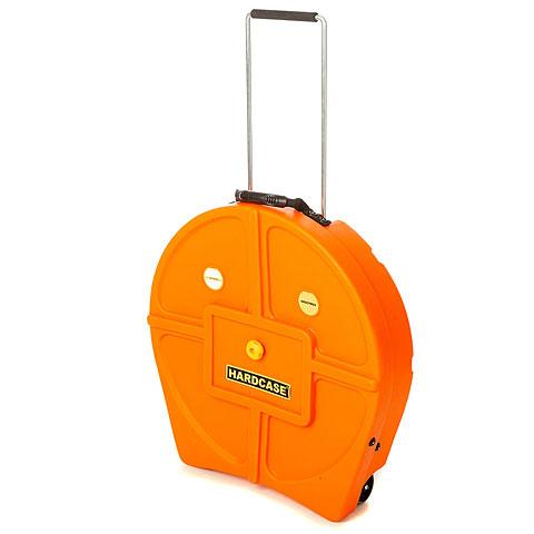 """Cymbalcase Hardcase Colored Padded 22"""" Orange Cymbal Trolley"""