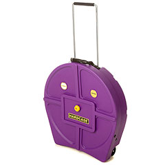 "Hardcase Colored Padded 22"" Purple Cymbal Trolley « Cymbalcase"