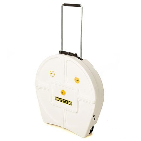 "Cymbalcase Hardcase Colored Padded 22"" White Cymbal Trolley"
