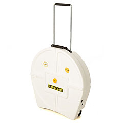 "Hardcase Colored Padded 22"" White Cymbal Trolley « Cymbalcase"