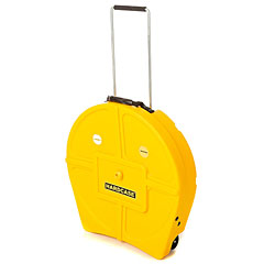 "Hardcase Colored Padded 22"" Yellow Cymbal Trolley « Cymbalcase"