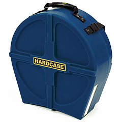 "Hardcase Colored Fully Lined 14"" Dark Blue Snare Case « Drum Cases"