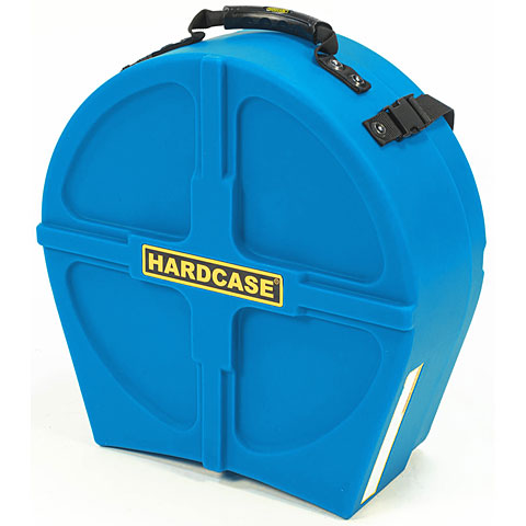 """Drum Cases Hardcase Colored Fully Lined 14"""" Light Blue Snare Case"""