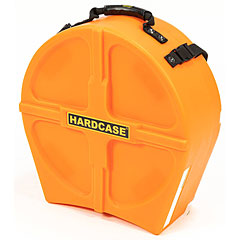 "Hardcase Colored Fully Lined 14"" Orange Snare Case « Drum Cases"