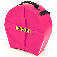 "Hardcase Colored Fully Lined 14"" Pink Snare Case « Drum Cases"