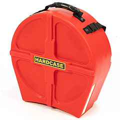"Hardcase Colored Fully Lined 14"" Red Snare Case « Drum Cases"