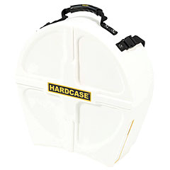 "Hardcase Colored Fully Lined 14"" White Snare Case « Drum Cases"