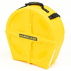 "Hardcase Colored Fully Lined 14"" Yellow Snare Case « Drum Cases"