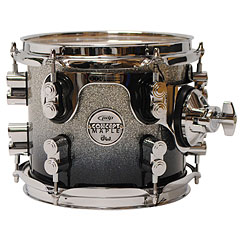 "pdp Concept Maple 8"" x 7"" Silver to Black Sparkle Fade Tom Tom « Tom"
