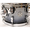 "Tom Tom pdp Concept Maple 10"" x 8"" Silver to Black Sparkle Fade Tom Tom"