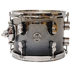 "pdp Concept Maple 10"" x 8"" Silver to Black Sparkle Fade Tom Tom « Tom"