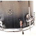 """Goliat pdp Concept Maple 14"""" x 12"""" Silver to Black Sparkle Fade Floor Tom"""
