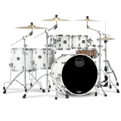 "Mapex Saturn 22"" Satin White Studioease Shell Pack « Batería"