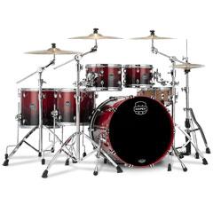 "Mapex Saturn 22"" Scarlet Fade Studioease Shell Pack « Schlagzeug"