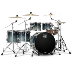 "Mapex Saturn 22"" Teal Blue Fade Studioease Shell Pack « Batterie acoustique"