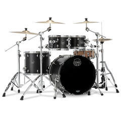 "Mapex Saturn 22"" Satin Black 4 Pcs. Fast Sizes Shell Pack « Batería"