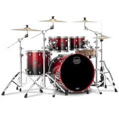 "Mapex Saturn 22"" Scarlet Fade 4 Pcs. Fast Sizes Shell Pack « Batería"